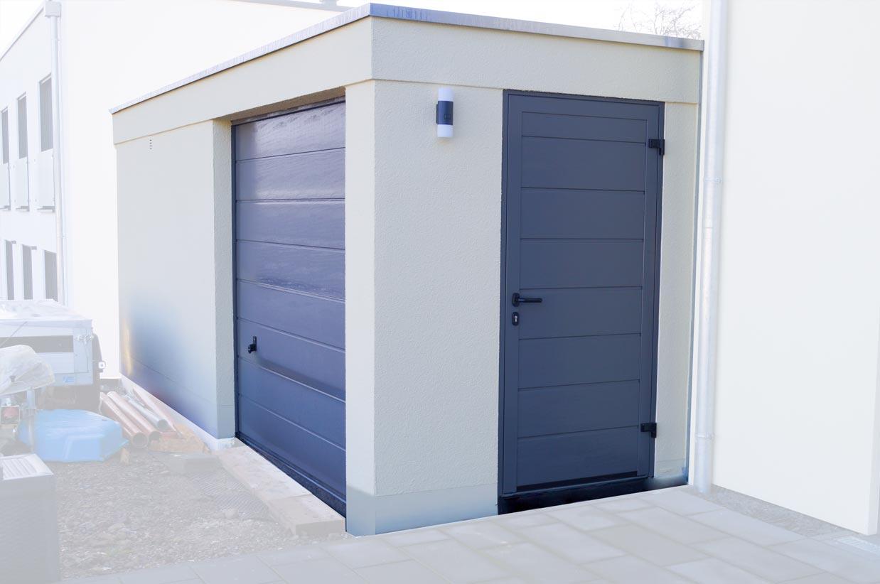 motorrad garage kaufen